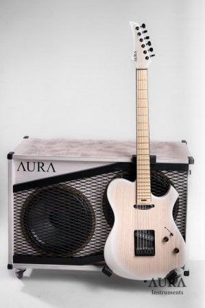 Gitarový reprobox AURA Winter Custom 2x12 Celestion Redback